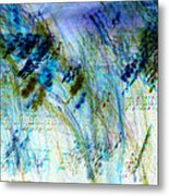 Inverted Light Abstraction Metal Print