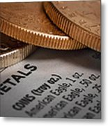 Investments Metal Print
