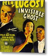 Invisible Ghost Metal Print by Monogram Pictures