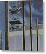 Invisible Industry Metal Print