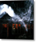 Invisibles Visiters From Beyond Flying In Over Night  Metal Print