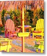 Invitation To Florida Sunset Metal Print