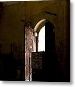 Invitation To The Templar Church Metal Print