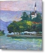 Ioannina Lake Metal Print by George Siaba