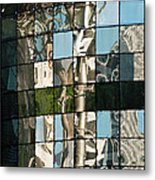 Ion Orchard Reflections Metal Print