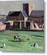 Iona Abbey From The Northwest Metal Print