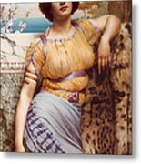 Ionian Dancking Girl Metal Print