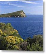 Ionian Sea Coast Albania Metal Print