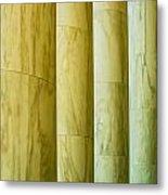 Ionic Architectural Columns Details Metal Print