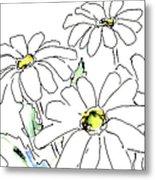 iPhone-Case-Flower-Daisy2 Metal Print
