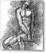 iPhone-Case-Nude-Male1 Metal Print