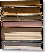 iPhone Case - Pile Of Books Metal Print
