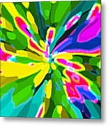 Iphone Cases Colorful Flowers Abstract Roses Gardenias Tiger Lily Florals Carole Spandau Cbs Art 181 Metal Print