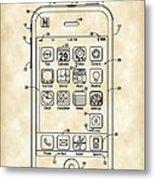 iPhone Patent - Vintage Metal Print