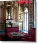 Iran Golestan Palace Interior  Metal Print