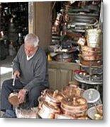 Iran Isfahan Copper Artisan Metal Print