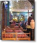Iran Isfahan Restaurant Metal Print