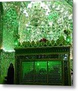 Iran Shiraz Mausoleum Metal Print