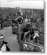 Iraq Al Manshiyya Evacuation 1948 Metal Print