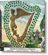 Ireland 1894 Metal Print