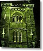 Ireland Church IIi Emerald Night Metal Print