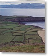 Ireland Emerald Isle Fields By Jrr Metal Print