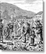 Ireland Peasants, 1886 Metal Print