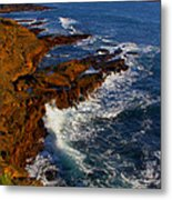 Ireland Rocky Coast Metal Print