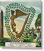 Irelands Historical Emblems Metal Print