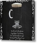 Irish Coffee Metal Print