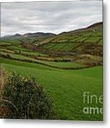 Irish Countryside Hdr Metal Print