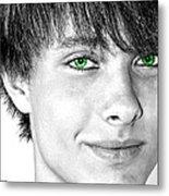 Irish Eyes Metal Print by Michael Taggart