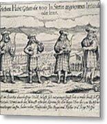 Irish Mercenaries In Stettin Metal Print