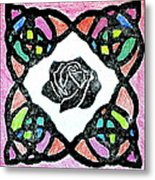 Irish Rose Metal Print by Marita McVeigh