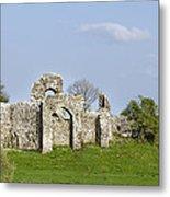 Irish Ruins Metal Print
