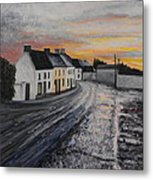 Rathvilly After The Rain Metal Print