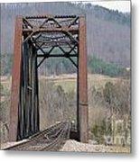 Iron Bridge Metal Print by Brenda Dorman