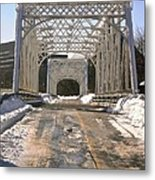 Iron Bridges Metal Print