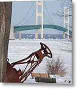 Iron Buoy And Mighty Mac Metal Print