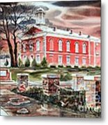 Iron County Courthouse No W102 Metal Print
