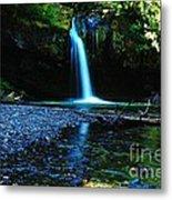 Iron Creek Falls Metal Print