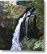 Iron Creek Falls Metal Print
