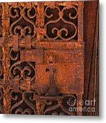 Iron Door Metal Print
