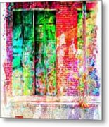 Iron Doors II Metal Print