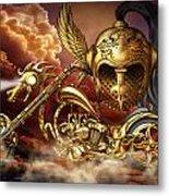 Iron Dragon Metal Print
