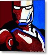 Iron Man 2 Metal Print by Barbara McMahon