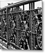Iron Work Metal Print