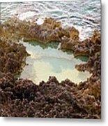 Ironshore Tidewater Pool Metal Print