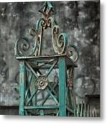 Ironwork In The Quarter Metal Print
