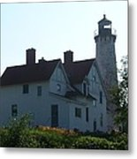 Iroquois Point Lighthouse Metal Print